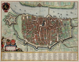 Antwerp The diary of John Evelyn