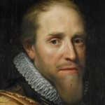 Painting portrait of Maurice, Prince of Orange