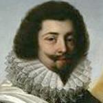 Oil portrait of man wearing ruff.